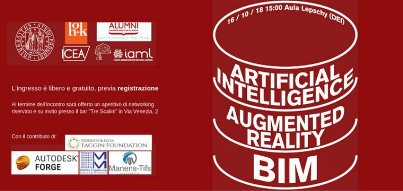 Manens-Tifs at the BIM/AR/AI meeting in Padua
