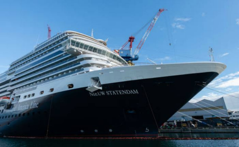 "Fincantieri has delivered in Marghera the new ship ""Nieuw Statendam"" – Holland America Line"