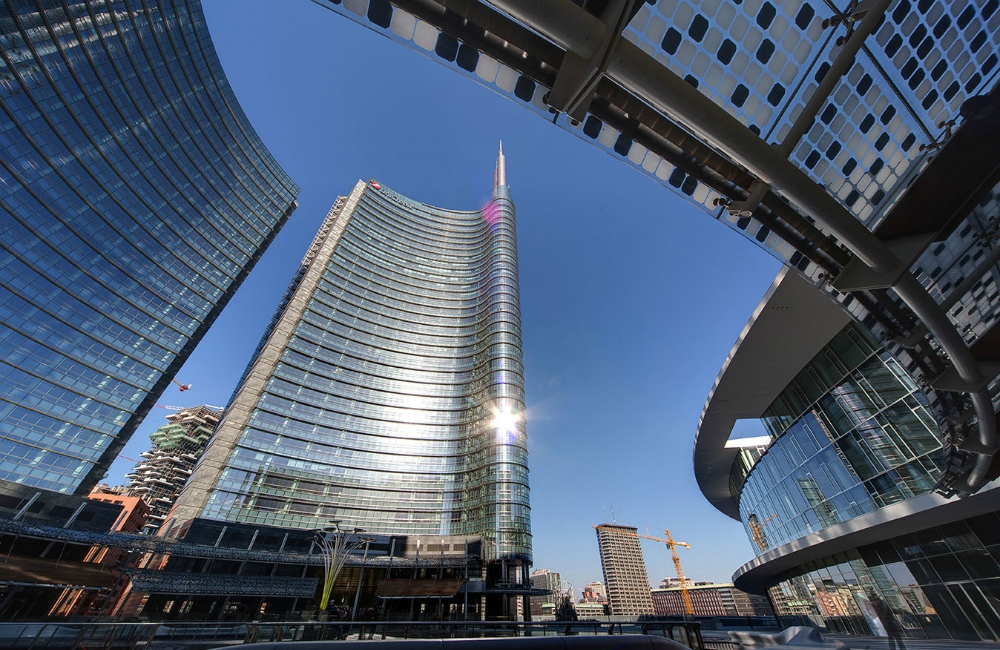 Unicredit Tower, E1-E2 Building, Porta Nuova Garibaldi – Milan