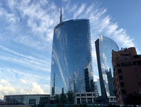 Porta Nuova Garibaldi - Unicredit Tower - Milan