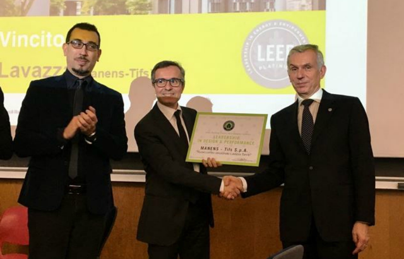 "The ""Leadership in Design and Performance"" Award goes to Lavazza's New Headquarters"
