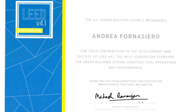 US Green Building Council Launchs The New LEED V4.1 Rating System
