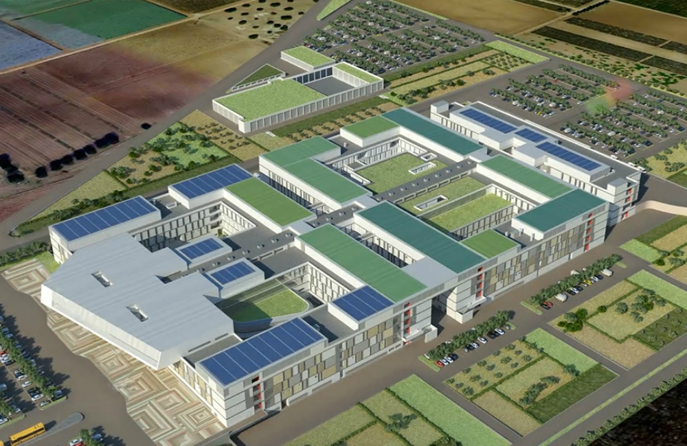 "New ""San Cataldo"" Hospital – Taranto"