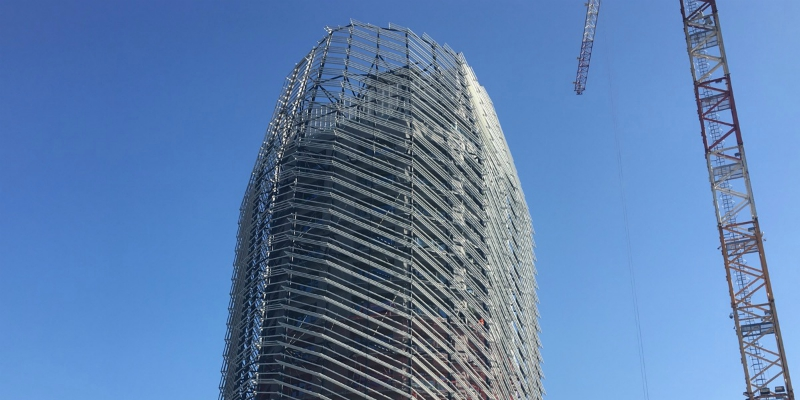 Zucchetti Tower in Lodi is running for LEED certification