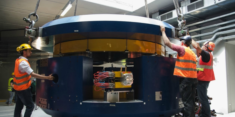 "The National Institute of Nuclear Physics (Istituto Nazionale di Fisica Nucleare, INFN) inaugurates in Padua the new cyclotron of the ""SPES"" project"