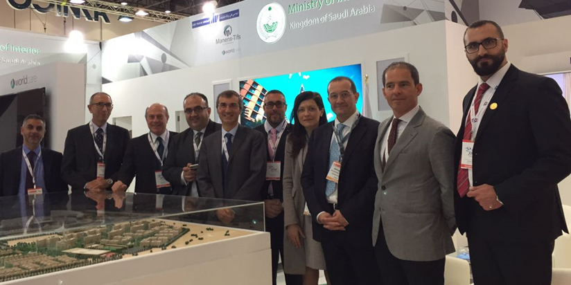 Manens-Tifs at the Arab Health Exhibition in Dubai