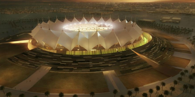 Manens-Tifs designs MEP plants of King Fahd International Stadium in Riyadh