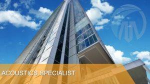 Acoustics Specialist