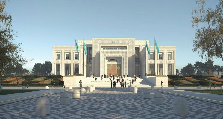 Manens-Tifs in the design of the New Constitutional Court – Nur-Sultan – Kazakhstan
