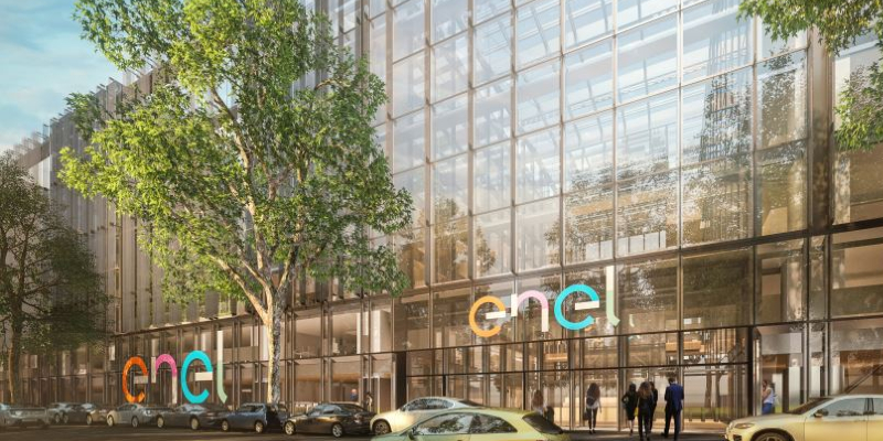 The renovation works of  the Enel Headquarters have started