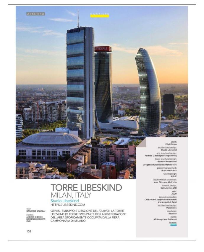 Libeskind Tower - Arketipo