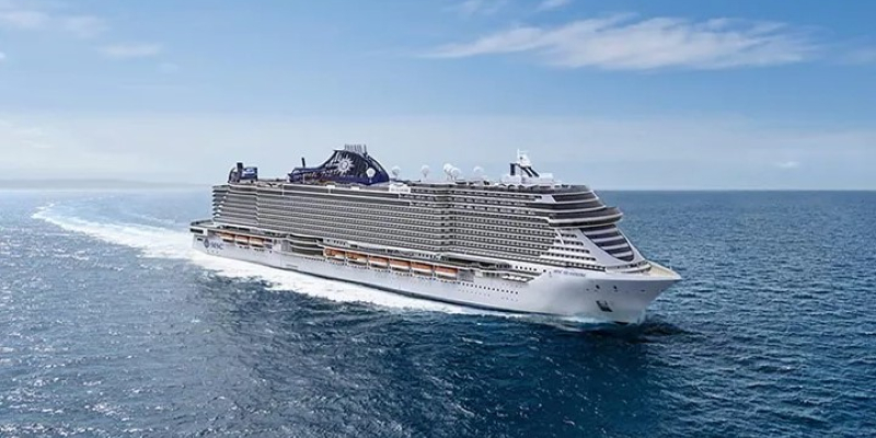 MSC Seashore, the largest cruise ship ever built in Italy, has been delivered